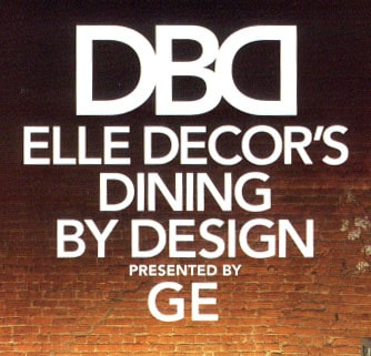 Elle Decor Dining By Design Banner