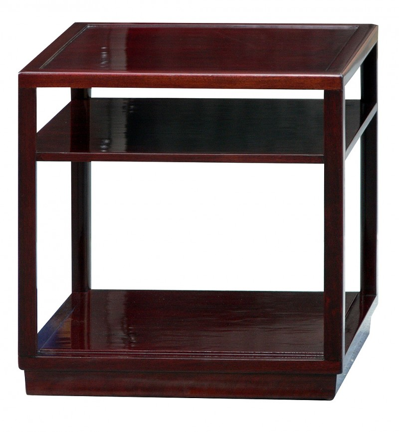 edward wormley dunbar janus side tables with shelves todd merrill