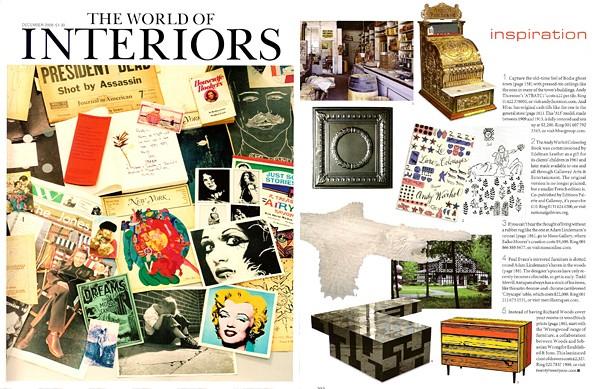 The World of Interiors - Inspiration - 2008