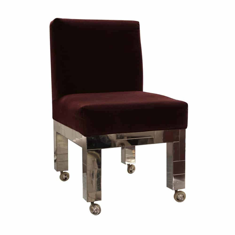 Paul Evans Directional Cityscape Dining Chairs Set Of Six PE240