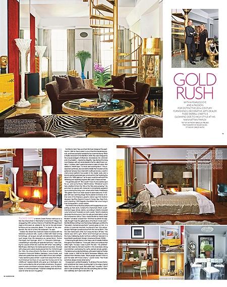 Elle Decor Gold Rush 2009