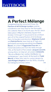 Art + Auction A Perfect Melange 2010