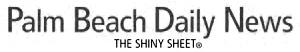 Palm Beach Daily News Logo