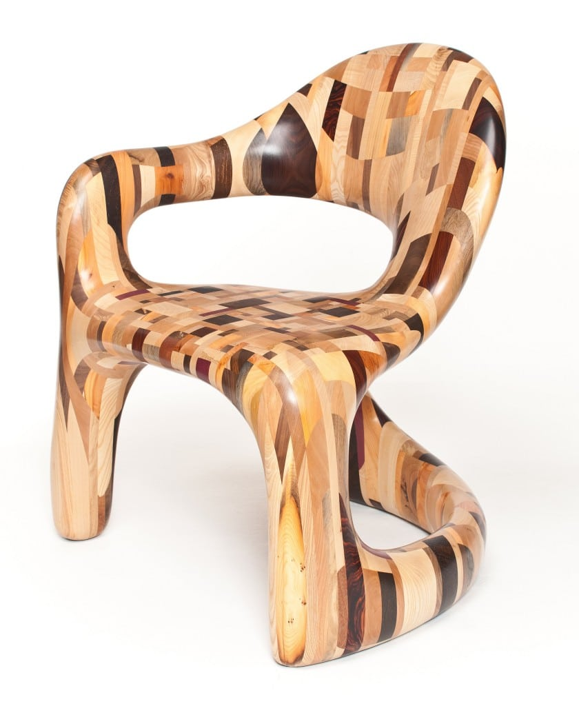 """Corsican"" Chair by The Yardsale Project, 2011"