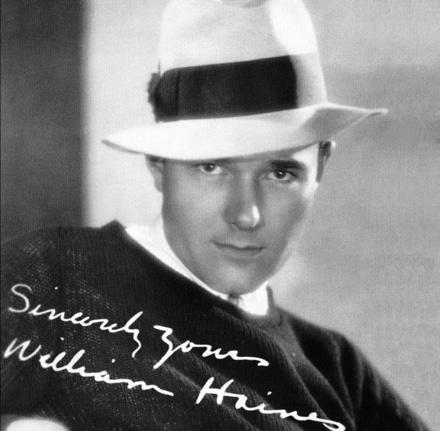 Billy Haines Portrait