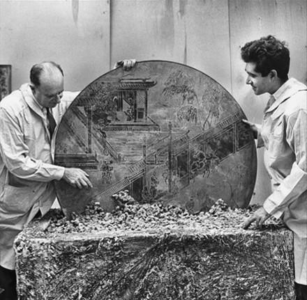 Philip Amp Kelvin Laverne Furniture Designer And Biography