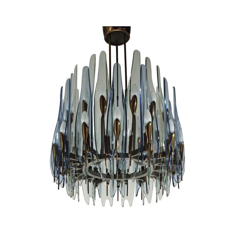 max ingrand for fontana arte chandelier todd merrill studio. Black Bedroom Furniture Sets. Home Design Ideas