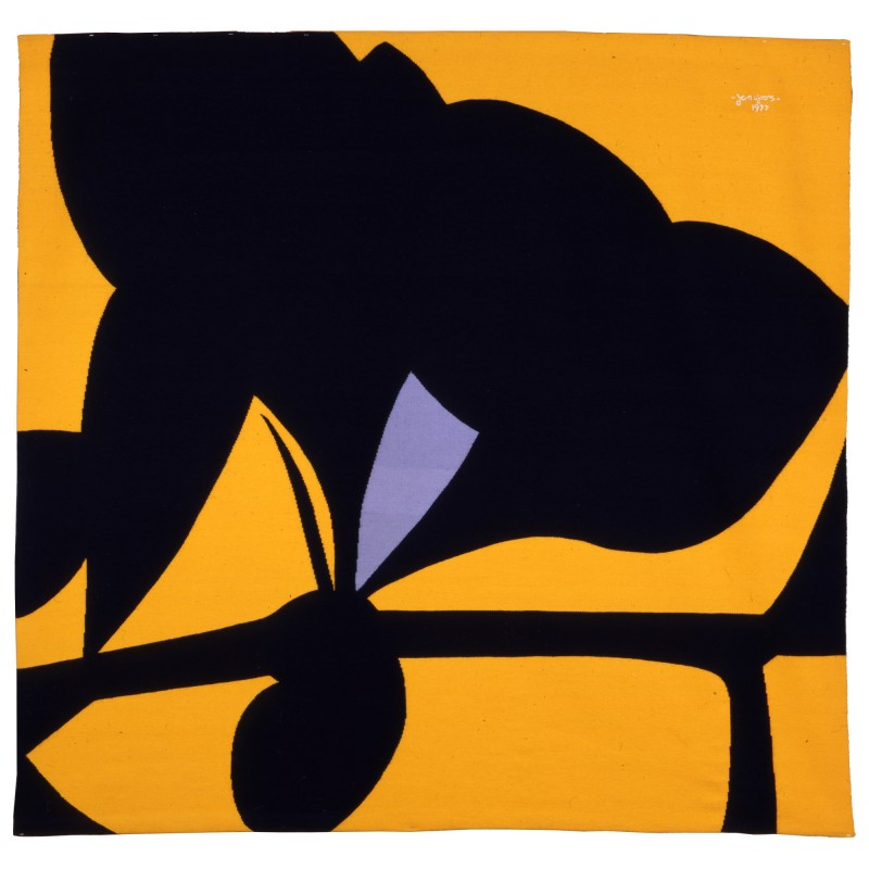 """Yellow Tantra"", Monumental Tapestry by Jan Yoors, 1977, USA"