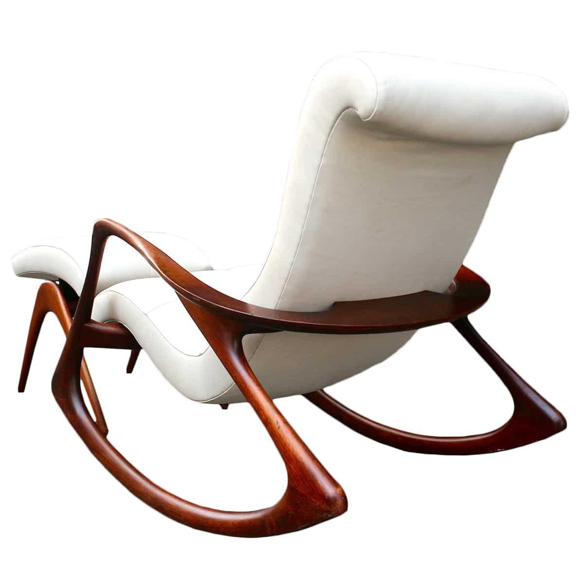 Vladimir Kagan Rocking Chair ...  sc 1 st  Todd Merrill Studio & Vladimir Kagan Rocking Chair and Ottoman Circa 1950s - Todd Merrill