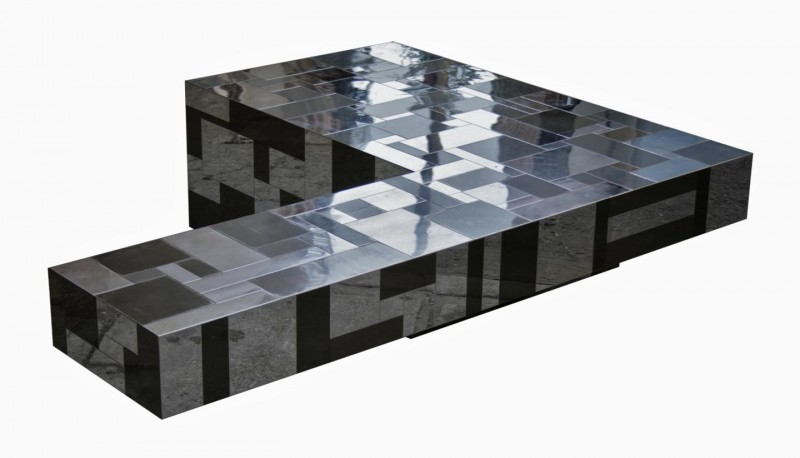 Paul Evans Directional Cityscape Cantilever Table II