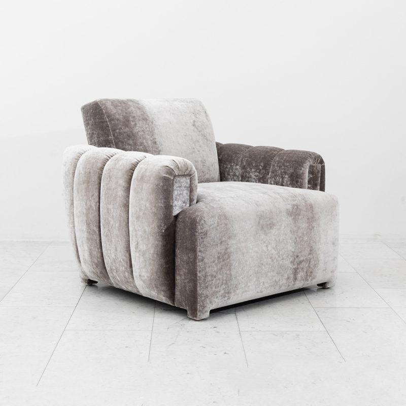 Amazing Todd Merrill Custom Originals Channel Tufted Club Chair Creativecarmelina Interior Chair Design Creativecarmelinacom