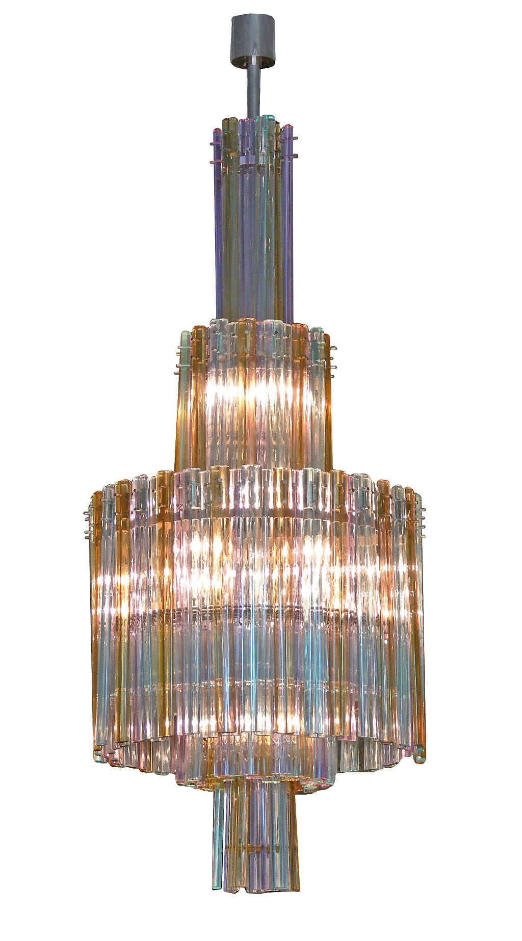 Multi colored chandelier by seguso todd merrill studio multi colored chandelier by seguso arubaitofo Image collections