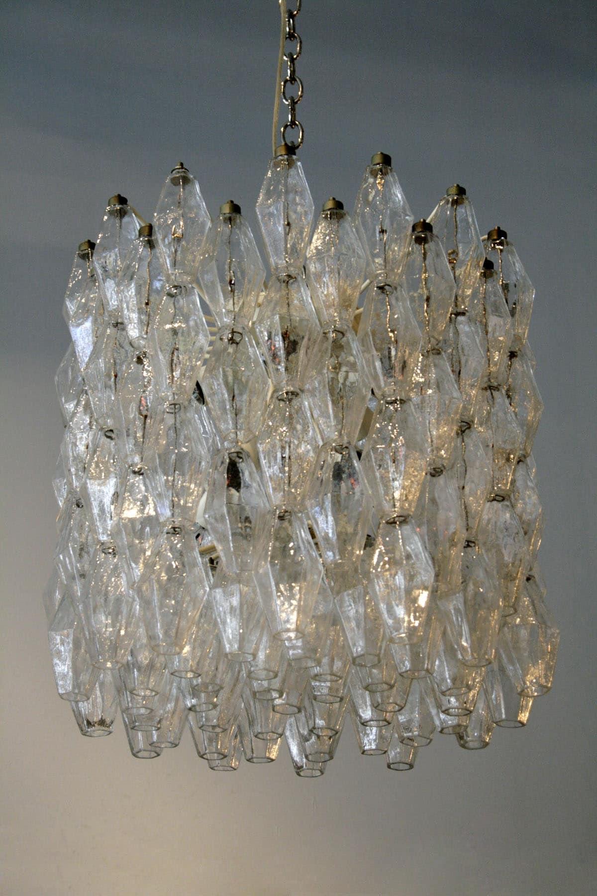 Clear polyhedral chandelier by carlo scarpa for venini todd clear polyhedral chandelier by carlo scarpa for venini aloadofball Images