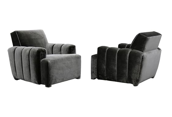 Custom Club Chairs todd merrill custom originals channel tufted club chair | todd