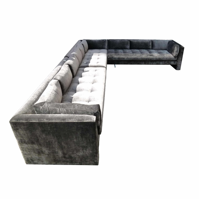 Vladimir Kagan, Extra-Large Custom Sofa, USA, C. 1970's