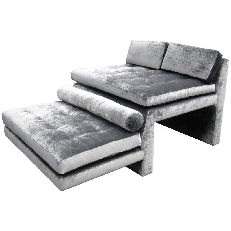 Vladimir Kagan Double Wide High Low Sofa Todd Merrill Studio