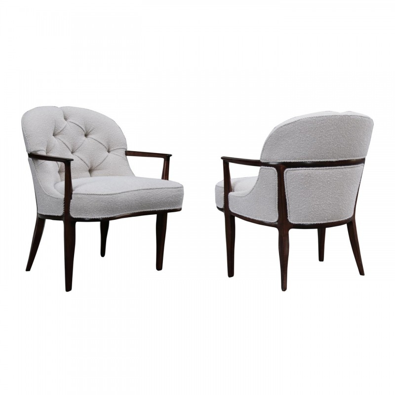 Edward Wormley Dunbar Janus Armchairs