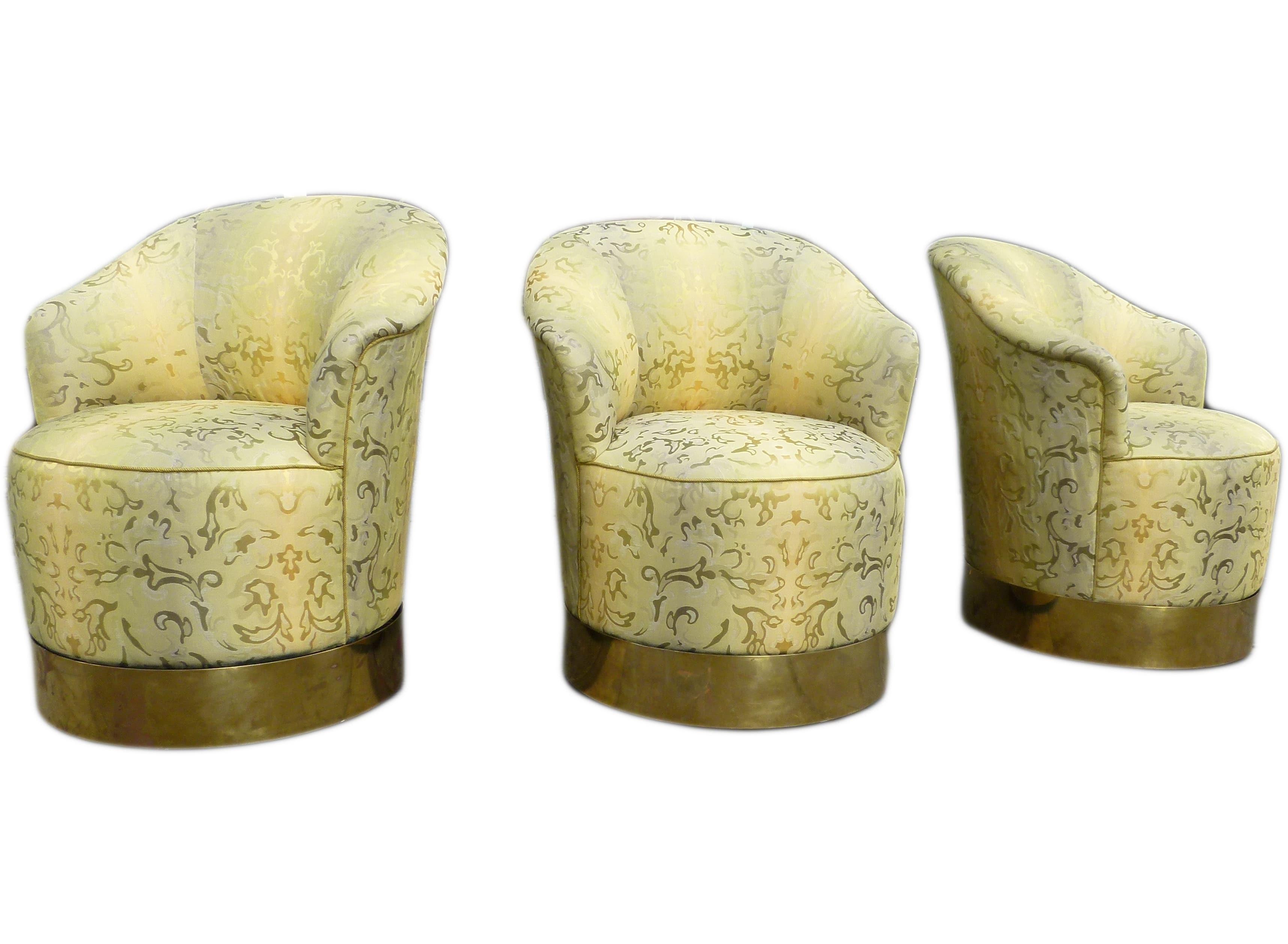 J robert scott three swivel chairs usa circa 1980s todd for 1980s chair