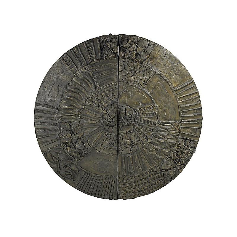 Paul Evans Disc Bar in Sculpted Bronze 1969 III