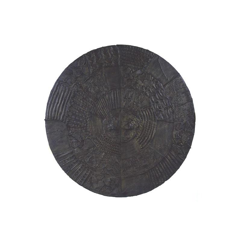 Paul Evans Disc Bar in Sculpted Bronze 1972