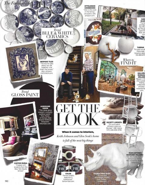 Molly Hatch Harpers Bazaar 2014