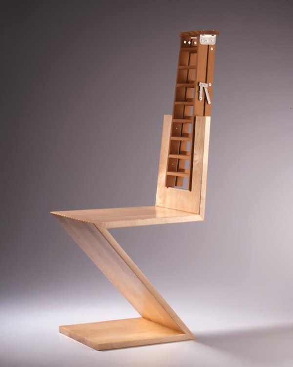 Garry Knox Bennett, ladder-back chair.