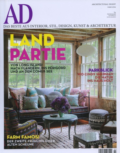 Architectural Digest Germany March 2014