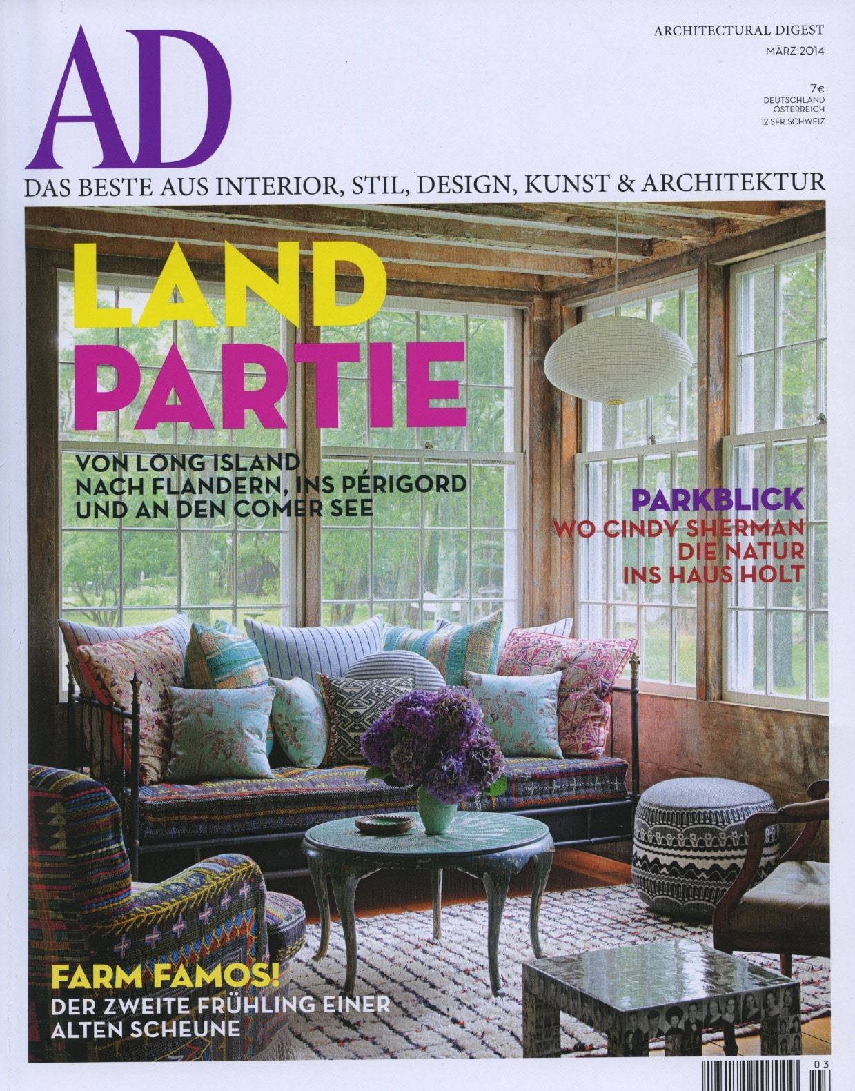 architectural digest germany let the sunshine inmarch 2014 todd merrill studio. Black Bedroom Furniture Sets. Home Design Ideas