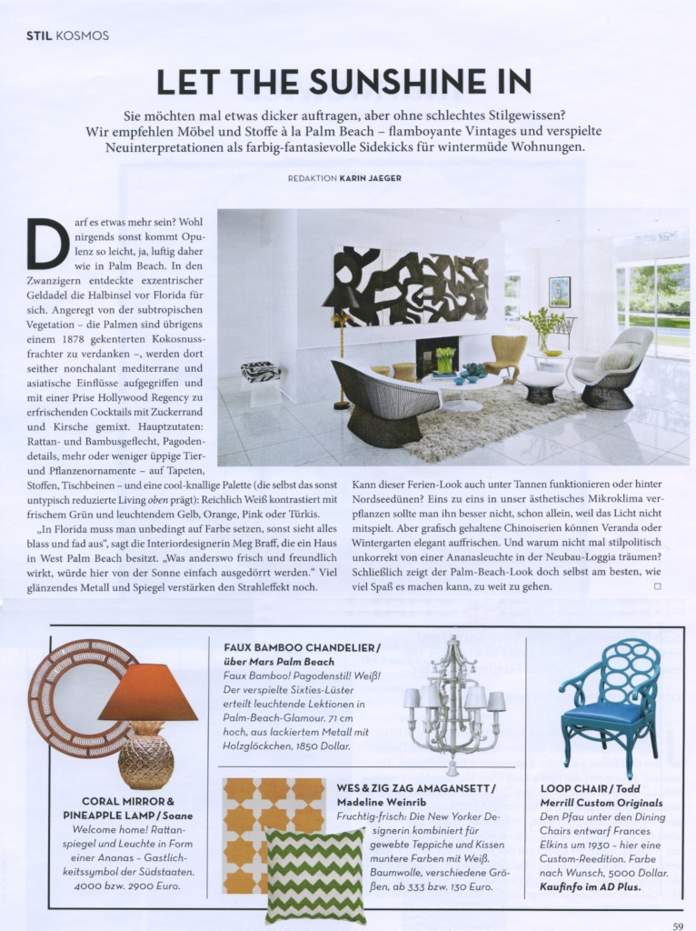 Architectural Digest Germany March 2014 2