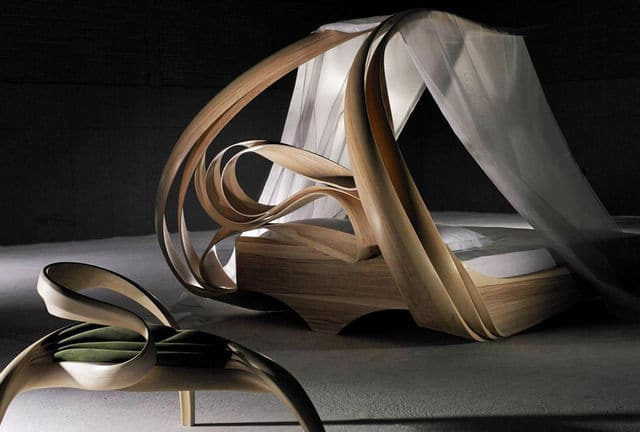 Joseph Walsh Enignum Canopy Bed, 2014 Todd Merrill Studio Contemporary