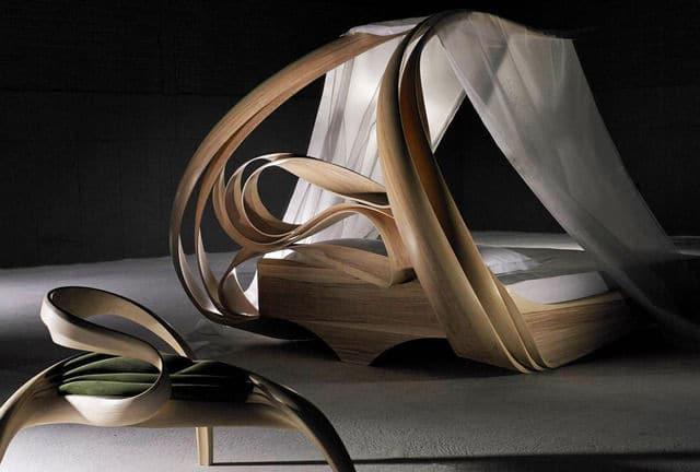 Joseph Walsh Enignum Canopy Bed, 2014 Todd Merrill Studio Contemporary