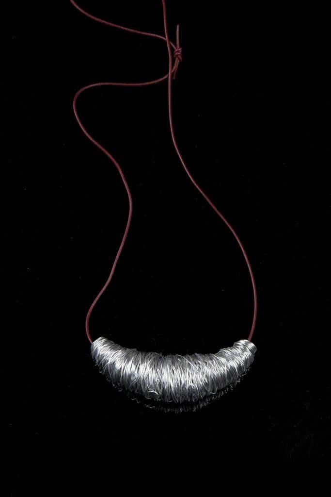 """Humberto and Fernando Campana """"Casullo"""" coiled aluminium pendant, 2004 Didier Ltd."""
