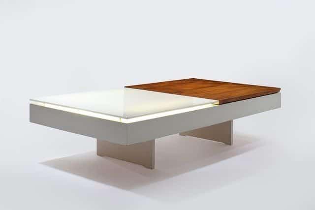 Joseph André Motte Light Table, 1959 Demisch Danant