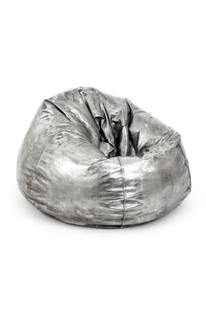 Cheryl Ekstrom Bean Bag Sculpture, 2013 Grey Area