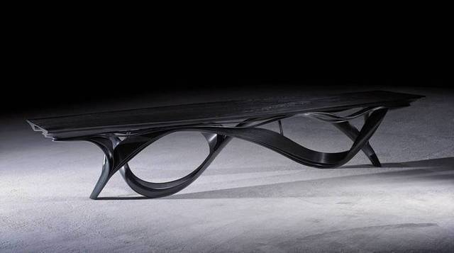 Joseph Walsh Enignum XII Dining Table, 2013 Todd Merrill Studio Contemporary