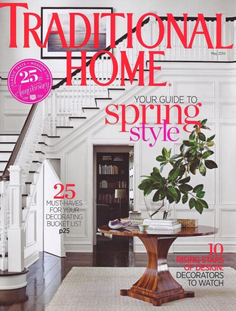 Traditional Home Magazine Cover May 2014