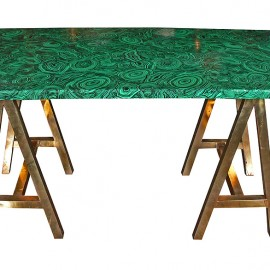 Piero Fornasetti Malachite Table