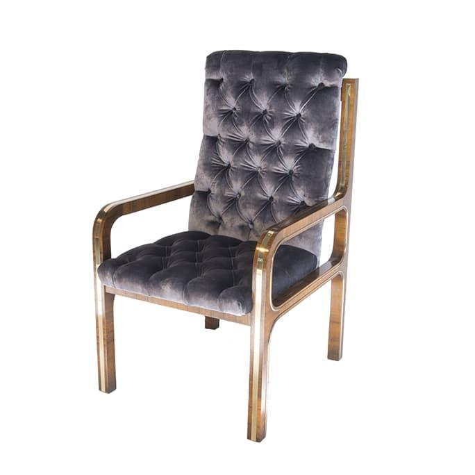Bernhard Rohne For Mastercraft Eight Arm Chairs Usa C