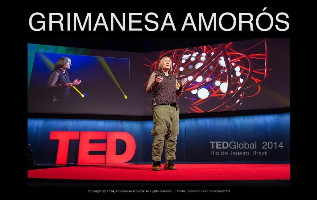 TED Talk Grimanesa Amoros