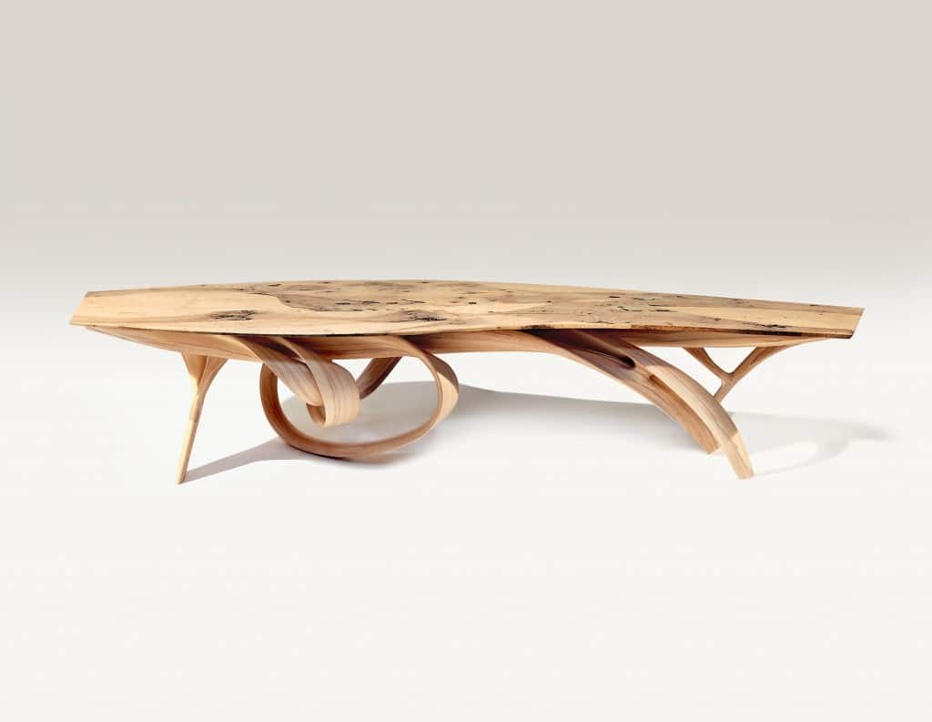 "Joseph Walsh, Enignum VIII Dining Table, IRE, 2012 88.25"" H x 44.1 L x 17.7"""