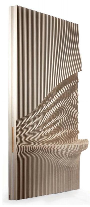 """Joseph Walsh, Equinox Wall, IRE, 2011 88.25"""" H x 44.1 L x 17.7"""""""