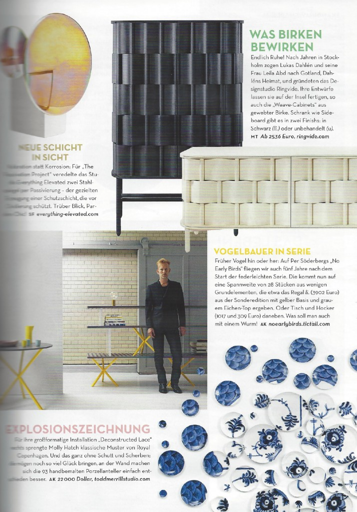 Architectural Digest Germany April 2015