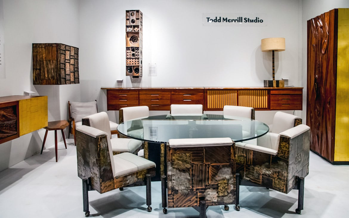 Todd Merrill Studio Booth at Spring Masters 2015