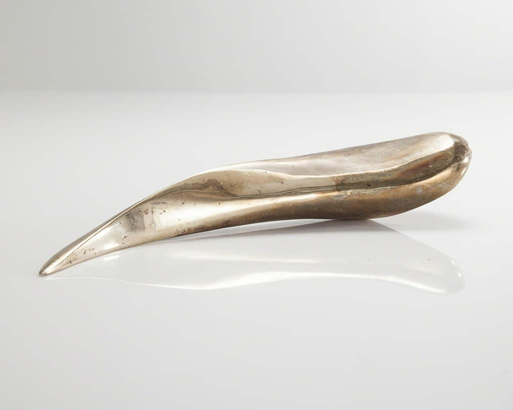Rogan Gregory Sculptural medium centaur horn form in bronze, 2015 R & Company
