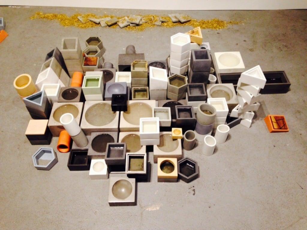 Ashira Israel installation at American Design Club. Photo: Cait Munro