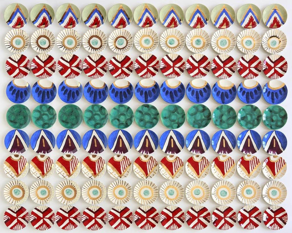 Molly Hatch Worcester Imari, 2014 Todd Merrill Studio $24,700