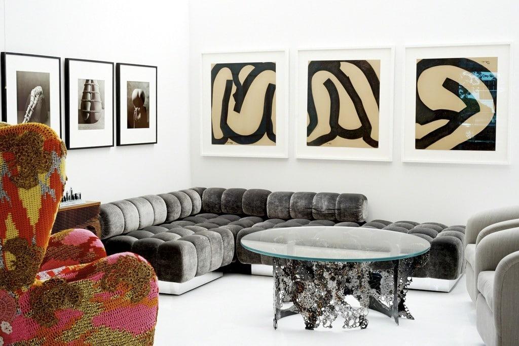 Installation view of Todd Merrill Studio Southampton courtesy of Todd Merrill Studio.