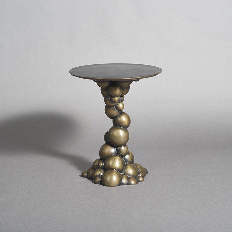 Erin Sullivan, Blackened Bronze Bubble Side Table, USA, 2015 | Todd Merrill  Studio