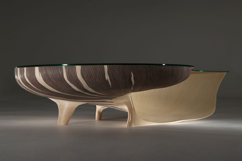The Nautilus table launched Marc Fish's career as a bespoke designer.