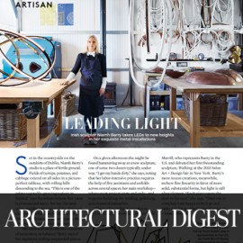Architectural Digest, Todd Merrill, art